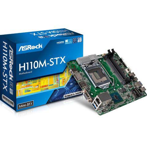 ASROCK H110M STX