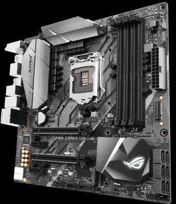 Ver ASUS ROG STRIX Z370 G GAMING WI FI AC