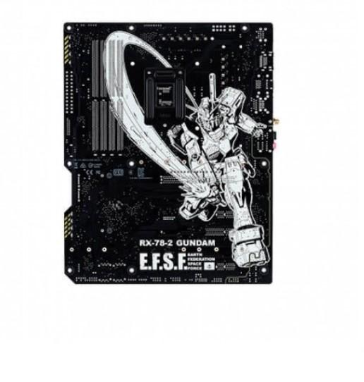 Asus Z590 Wifi Gundam Edition