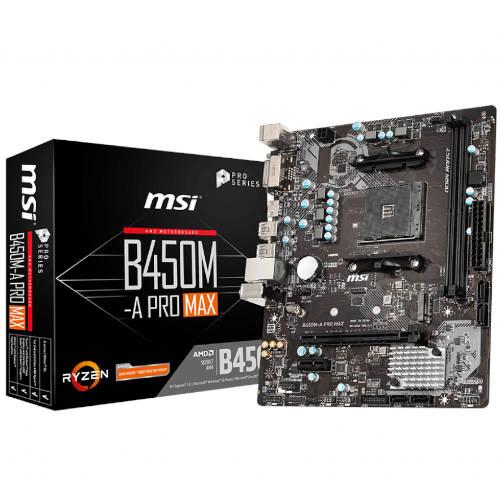 Msi B450m A Pro Max