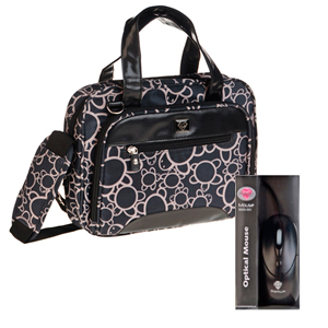 Premium Technology Bolso Estampado Tortuga Bl-003   Mouse 15 6