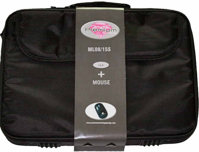Premium Technology Maletin 156   Raton Negro  Ml08