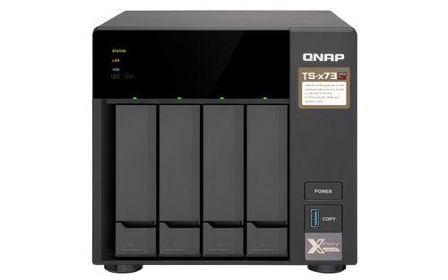 Ver QNAP BUSINESS HIGH END 4 BAY NAS TS 473 8G
