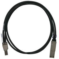 QNAP CAB SAS05M 8644 8088 1m Negro cable Serial Attached SCSI SAS