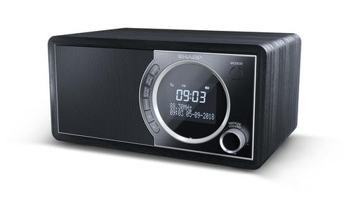 Radio Despertador Sintonizador Dr 450 Bk Sharp