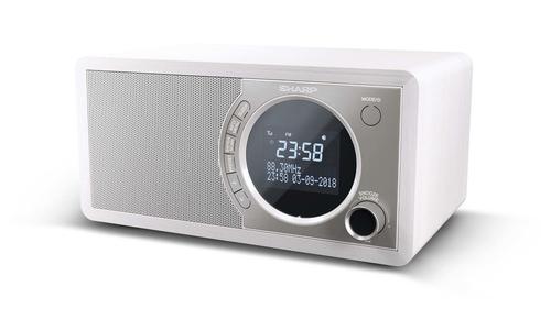RADIO ESTEREO POR NTERNET DR 450 WH BLANCO SHARP