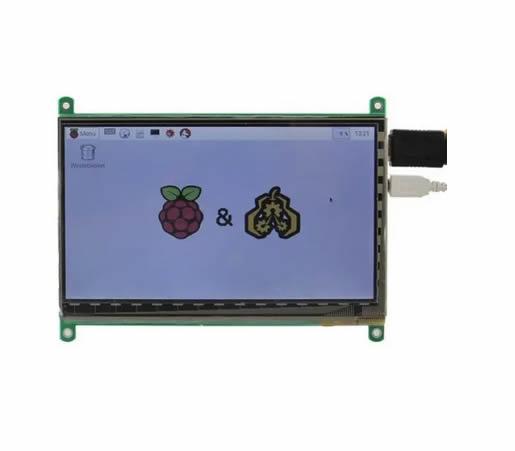 Raspberry Kit De Pantalla Tactil Lcd 7 R