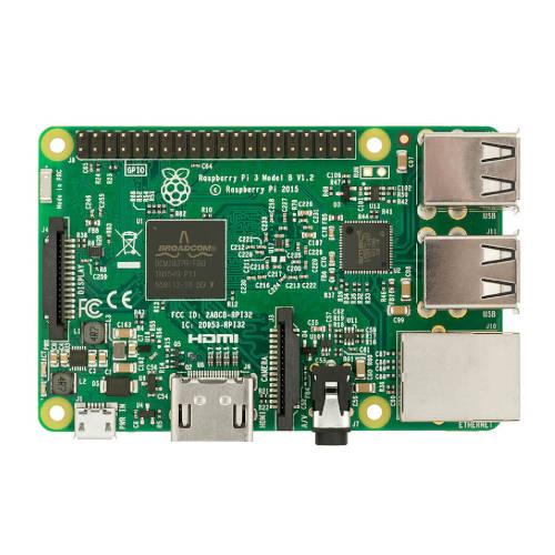 Raspberry Placa Base Pi 3 Modelo B 182 8032