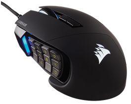 Corsair Gaming Scimitar Pro Rgb Negro
