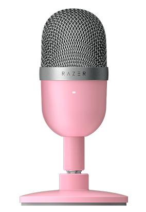 Razer Seiren Mini Rosa Microfono De Superficie Para Mesa