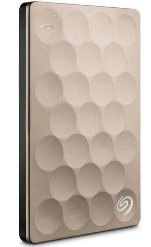 Seagate Backup Plus Ultra Slim Portable 2tb Usb 3 0 Dorado Steh2000201