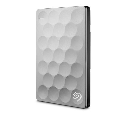 Ver SEAGATE BACKUP PLUS ULTRA SLIM PORTABLE 1TB USB 3 0 PLATA
