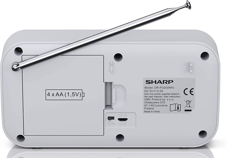 Sharp Dr P320 Wh Radio Digital Portatil