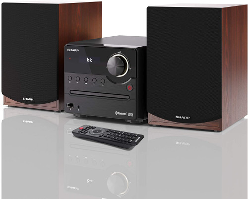 Sharp Xl B512 Br Micro Sound System Con