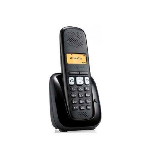 Ver SIEMENS GIGASET TELEFONO INALAMBRICO A250 negro S30852 H2712 D201