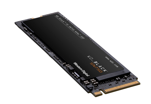 SSD WESTERN DIGITAL WD BLACK SN750 NVMe WITH HEATSINK M2 1TB