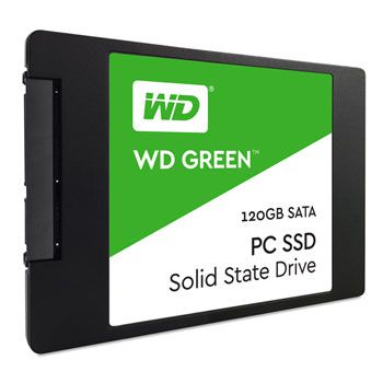 Ver SSD Western Digital WD Green Sata 25 120 Gb