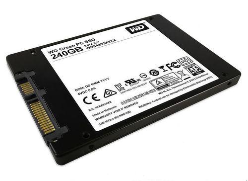 Ver SSD Western Digital Green Sata 240 Gb
