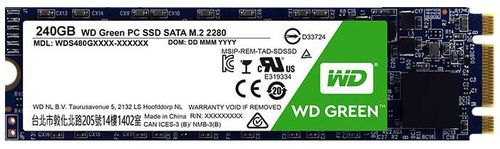Ver SSD Western Digital WD Green Sata M2 240 Gb
