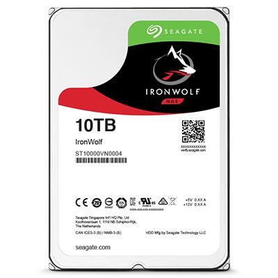 Ver Seagate NAS HDD IronWolf 3TB 3000GB Serial ATA III