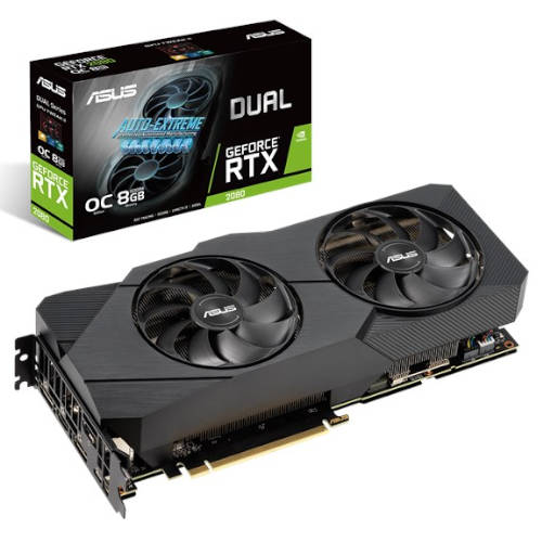 ASUS DUAL RTX 2080 A8G EVO GAMING