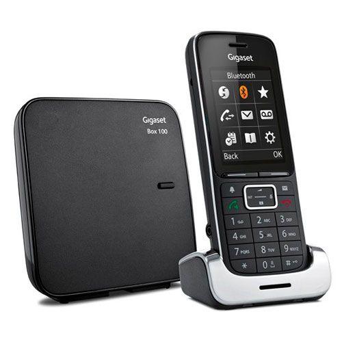 Ver TELEFONO INALAMBRICO GIGASET SL450 BLACK EDITION