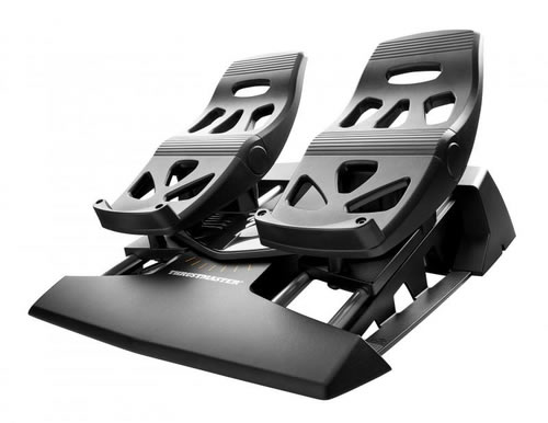 THRUSTMASTER PEDALES TFLIGHT RUDDER PEDALS para PC PS4 2960764