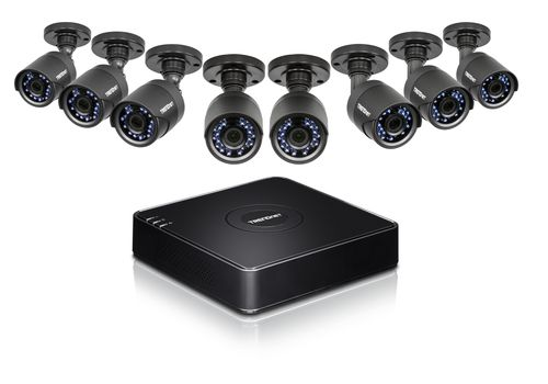 Ver TRENDNET KIT DE VIGILANCIA DRTV CCTV HD 8 CANALES