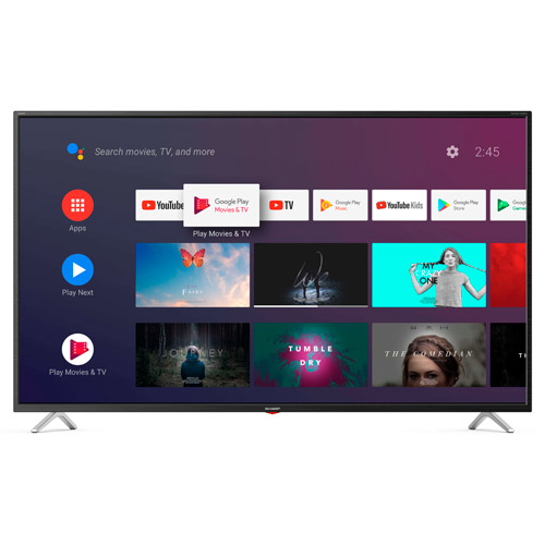 Ver TV 65 UHD LED ANDROID SHARP