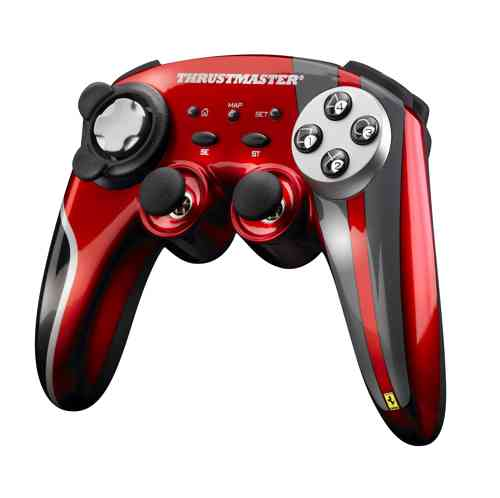 Thrustmaster Gamepad Ferrari Motors F430 Inalambrico Scuderia Limited Edition