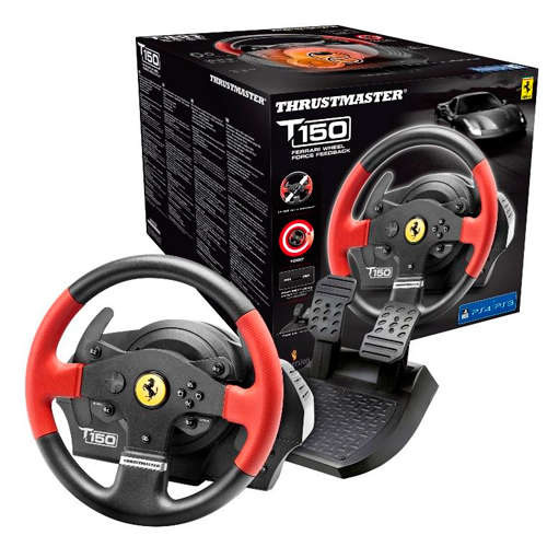Ver Thrustmaster T150 Ferrary Edition para PS4 PS3 PC