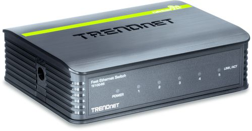 Ver Trendnet 5 Port 10100Mbps Switch