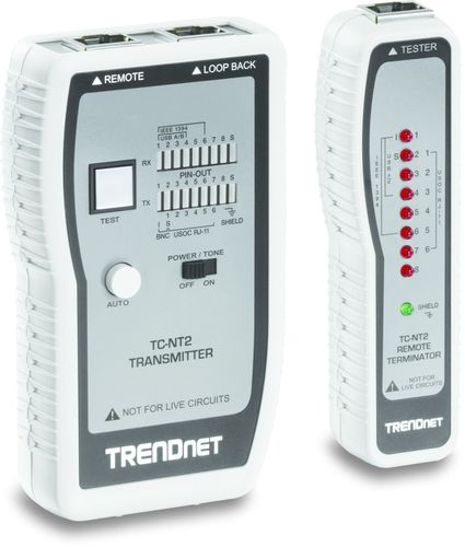 Ver Trendnet Tester cable de red TC NT2