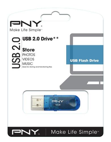Usb Pny 16gb Classic Attache 2 0