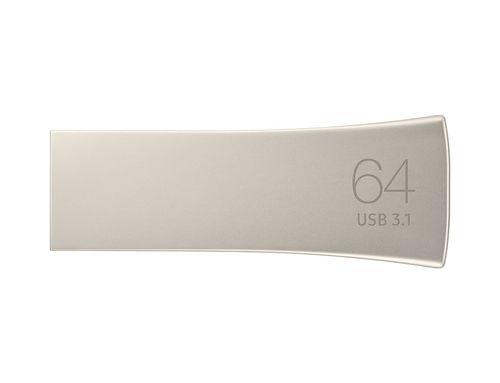 Usb Samsung Bar Plus 64gb Muf 64be3eu Champagne Silver