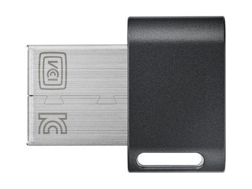 Usb Samsung Fit Plus 256gb Muf 256abeu Titan Gray Plus