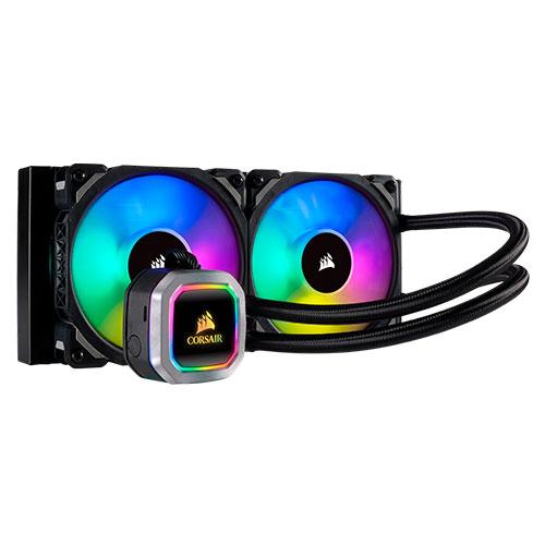 Ver CORSAIR COOLING HYDRO SERIES H100I PLATINUM LIQUID CPU COOLER CW 9060039 WW