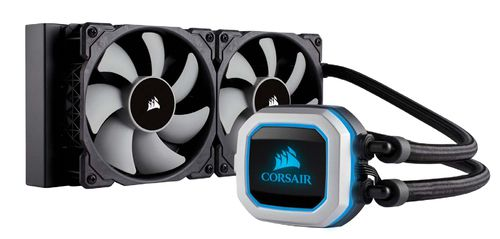 CORSAIR COOLING HYDRO SERIES H100I PRO LIQUID CPU COOLER CW 9060033 WW