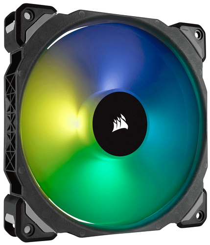 CORSAIR ML140 PRO RGB 140MM PREMIUM MAGNETIC LEVITATION RGB LED PWM FAN SINGLE PACK