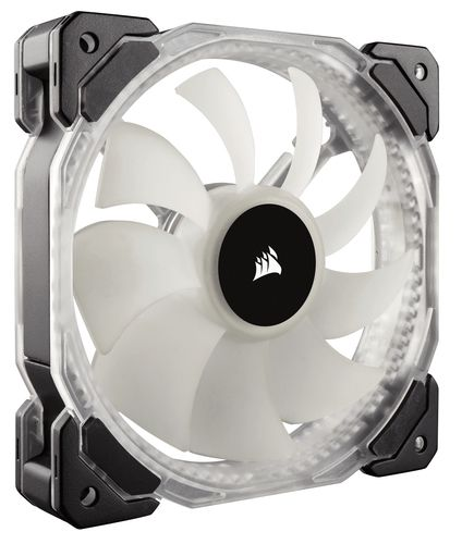 Corsair Hd120 Rgb Led Three Fans With Controller