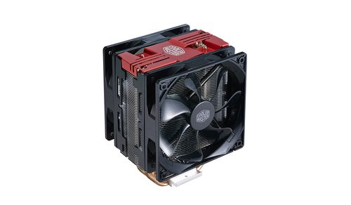 Ver VENTILADOR CPU COOLER MASTER HYPER 212 LED TURBO RED TOP COVER