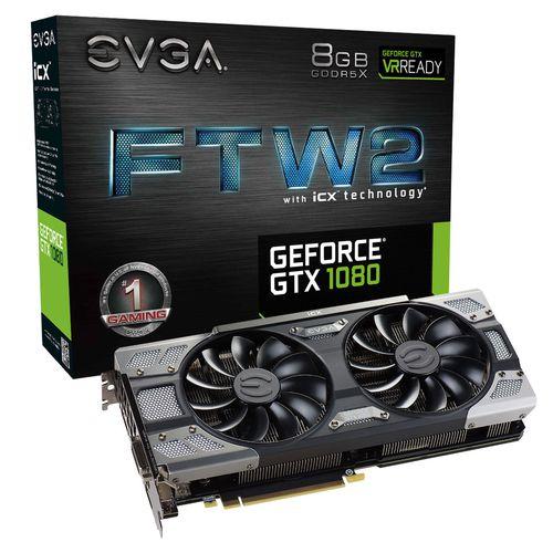 Ver EVGA GEFORCE GTX 1080 FTW2 GAMING