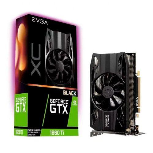 EVGA GEFORCE GTX 1660TI XC 6GB BLACK