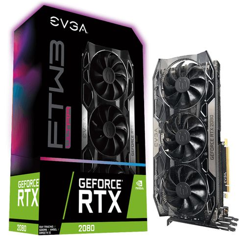 Ver EVGA GEFORCE RTX 2080 8GB FTW3 ULTRA GAMING