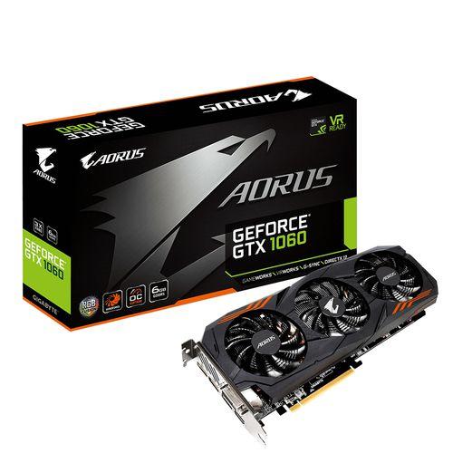 Gigabyte AORUS GTX 1060 6GB 2 0