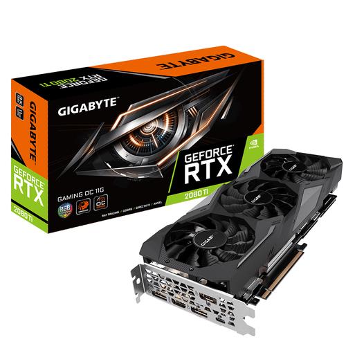 GIGABYTE RTX 2080 TI GAMING OC 11GB GDDR6