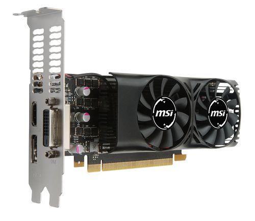 MSI GTX 1050 TI 4GT LP 4GB LOW PROFILE