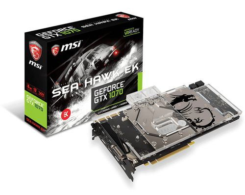 Ver MSI GTX 1070 SEA HAWK EK X