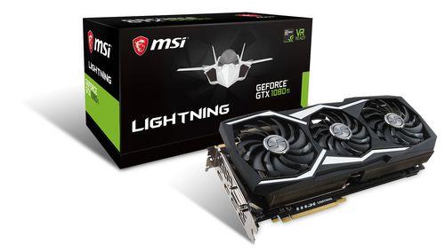 MSI GTX 1080 TI LIGHTNING X 11 GB
