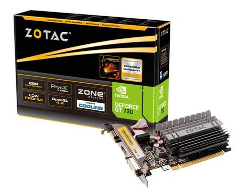 ZOTAC GT 730 2GB ZONE EDITION